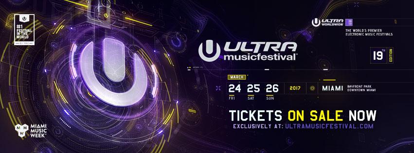 Ultra Music Festival 2017 Miami