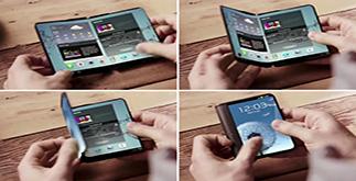 Samsung Galaxy X, lo smartphone piegabile, forse gia' al CES 2019 con batteria da 6000 mAh