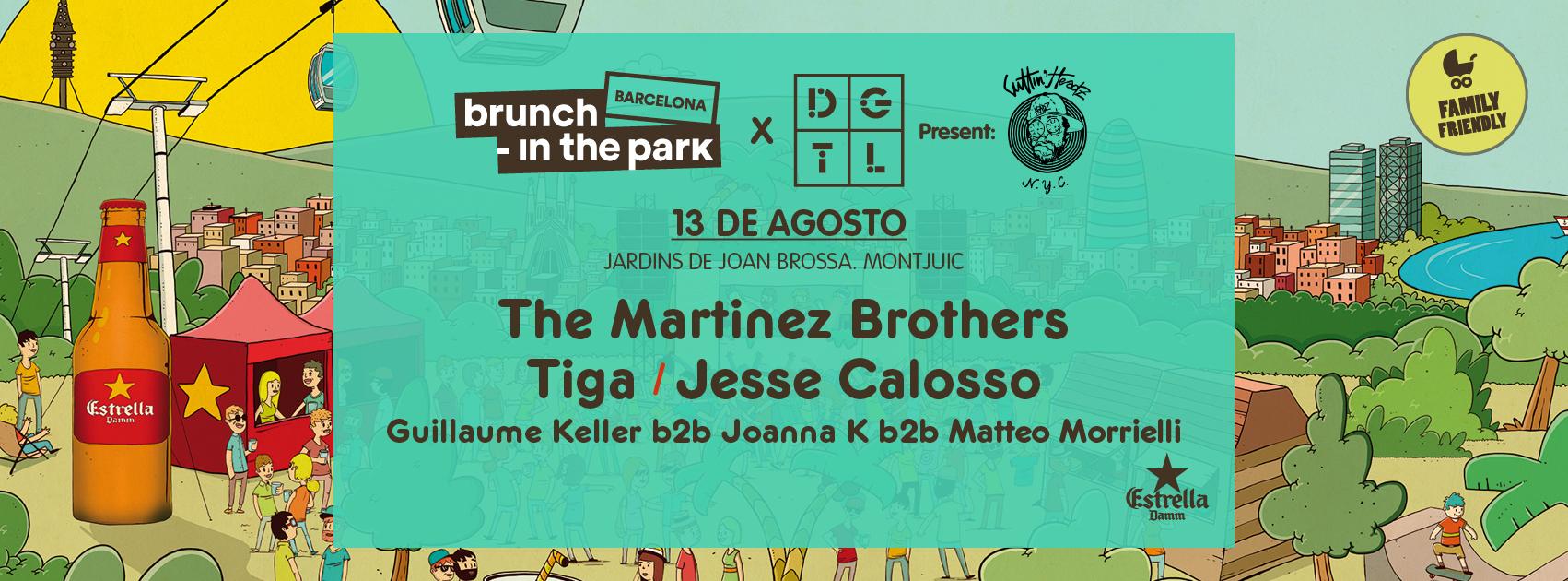 DGTL Barcelona and Brunch-In the Park