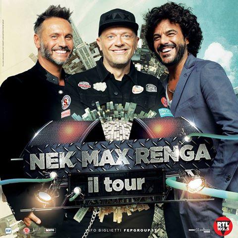 Tre grandi artisti della musica italiana insieme per uno straordinario progetto live!