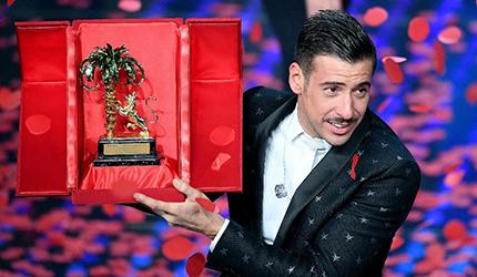 Sanremo: Gabbani vince il Festival