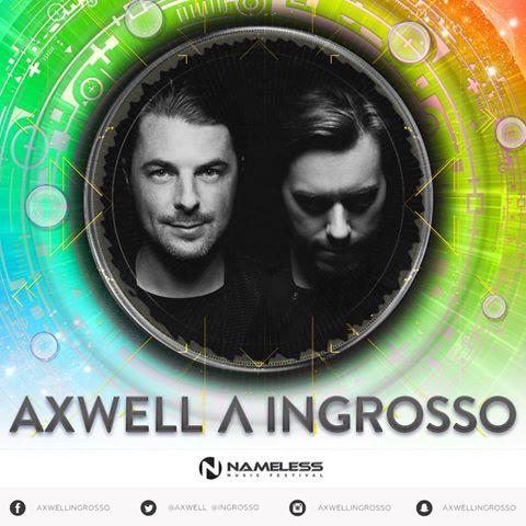 Axwell e Ingrosso al Nameless 2017