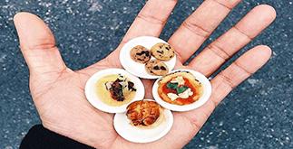 New York: Tiny Food il Cibo Bonsai