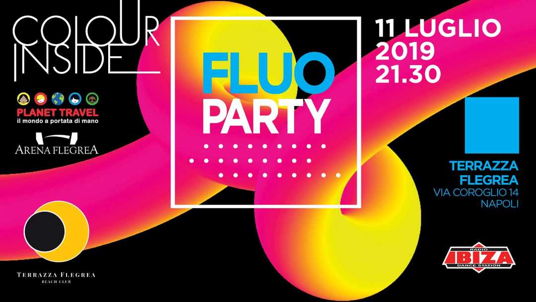 Colour Inside Fluo Party Party 20190711 Terrazza