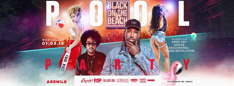 Black On The Beach Closing Pool Party Terrazza Flegrea